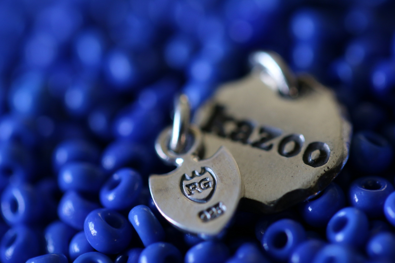 Vintage Venetian Beads Long Necklace に使用しているビーズ画像